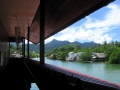 view from first floor on the river klong prao